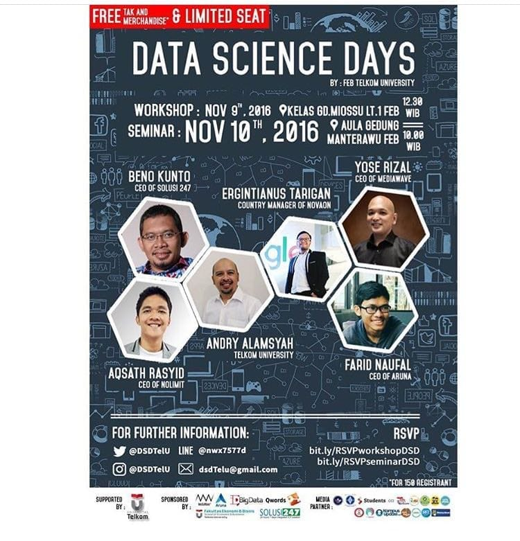 """Data Science Days"" – Data is The New Science, Big Data Holds The Answer"